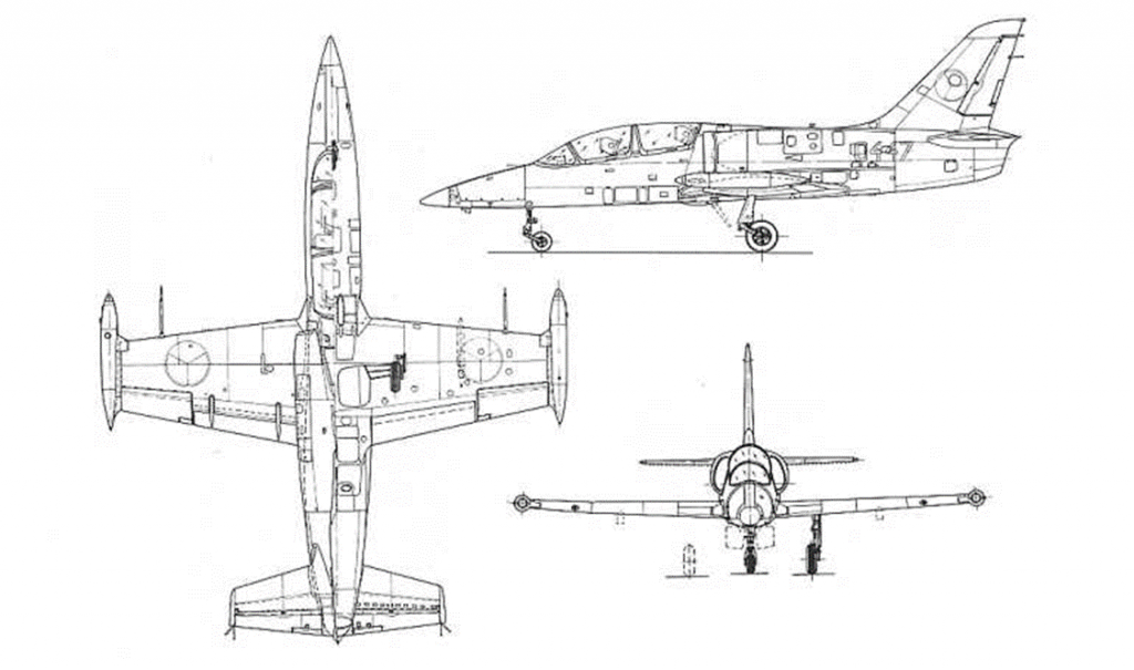 L-39 diagram